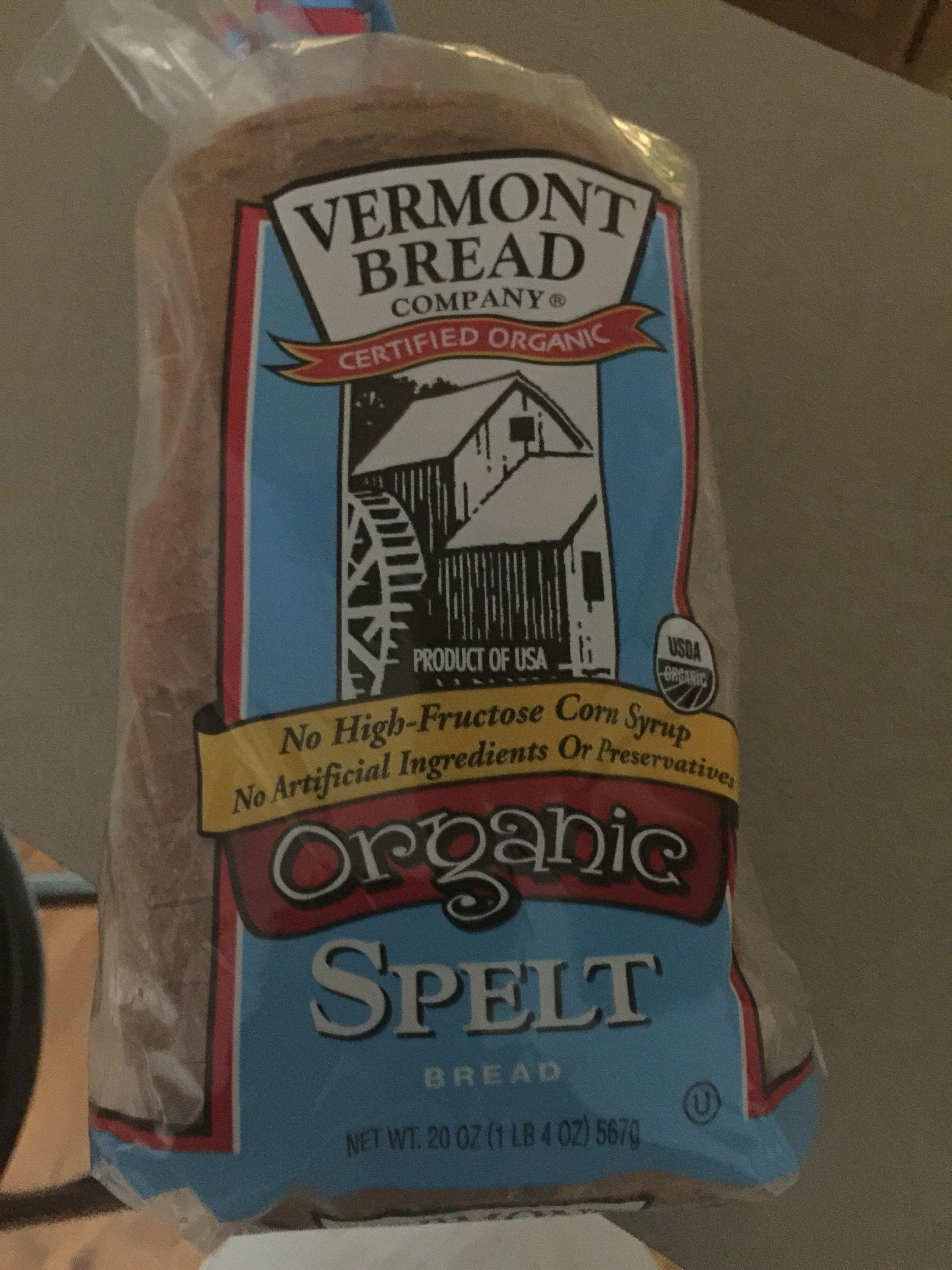 Whole Foods Organic Spelt Bread