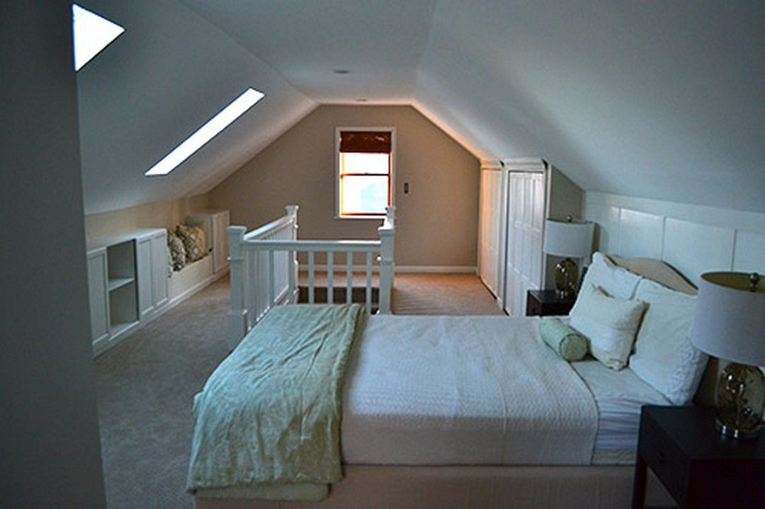 Best Awesome Attic Master Bedroom With Wood Furniture Attic 640 x 480