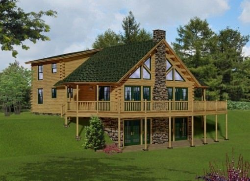 outpost katahdin cedar log homes floor plans future home log rh pinterest com