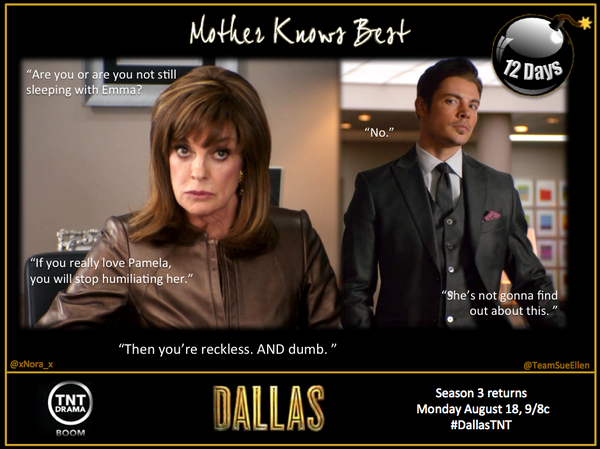 Sue Ellen John Ross Dallas Tnt Mother Knows Best Movies And Tv Shows