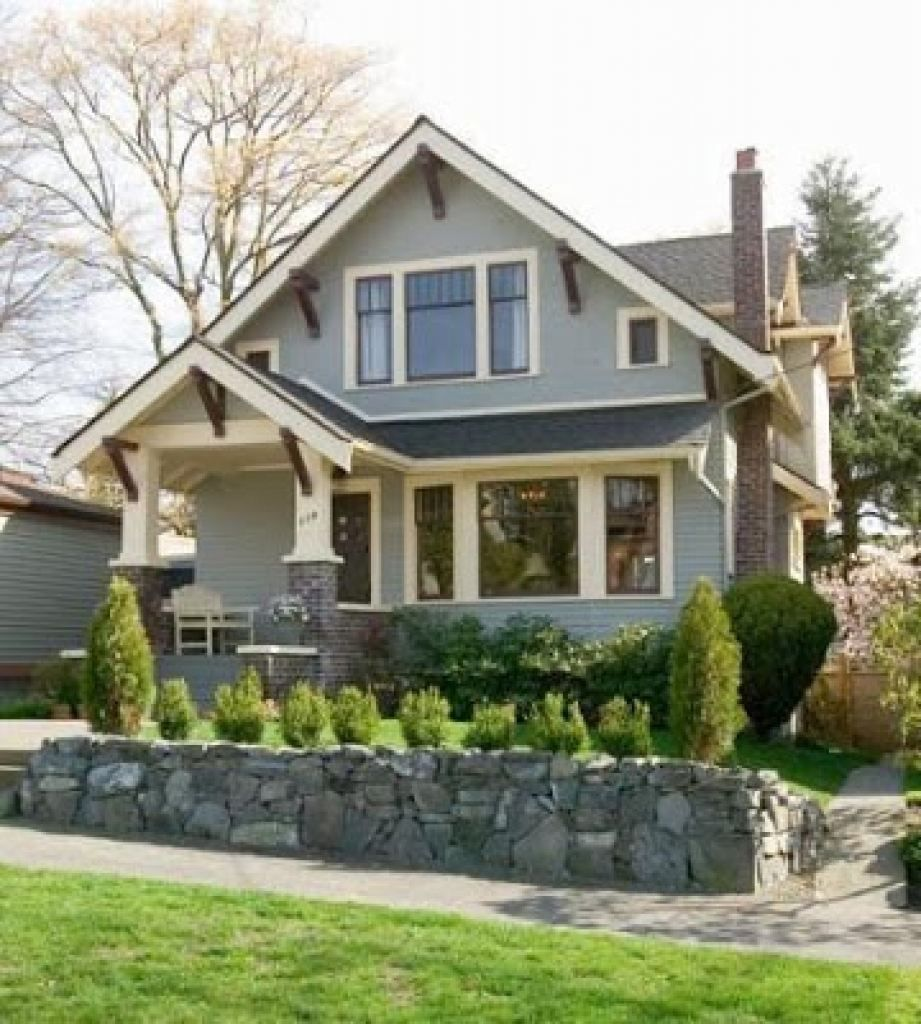 Architecture Craftsman Home Exterior Paint Colors Brown Wood Front Door Along