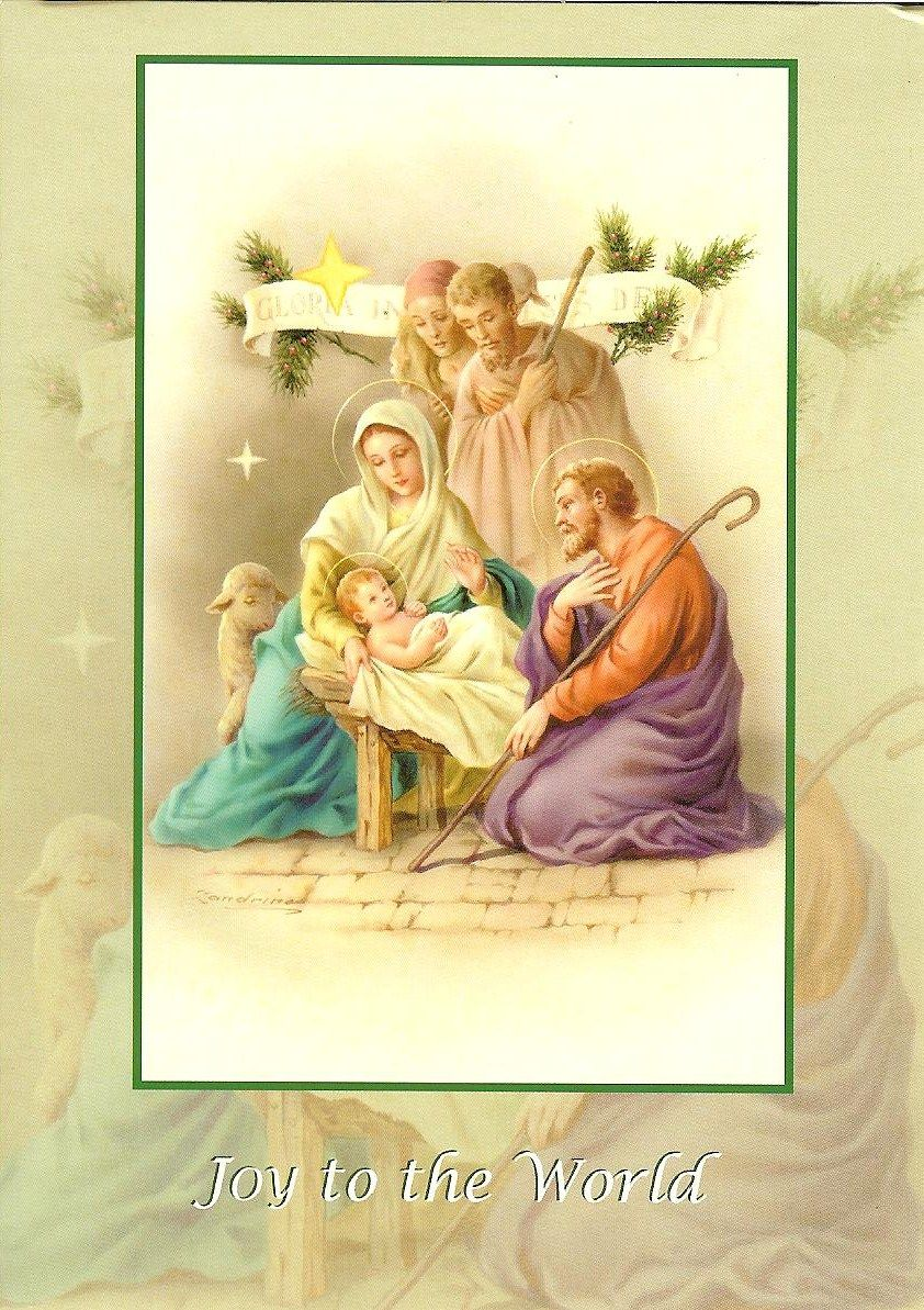 The Holy Family - Brings Christ back into Christmas