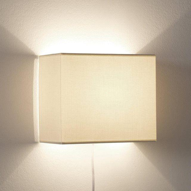 chambre applique murale rectangulaire sio la redoute interieurs case grecia wall lights. Black Bedroom Furniture Sets. Home Design Ideas