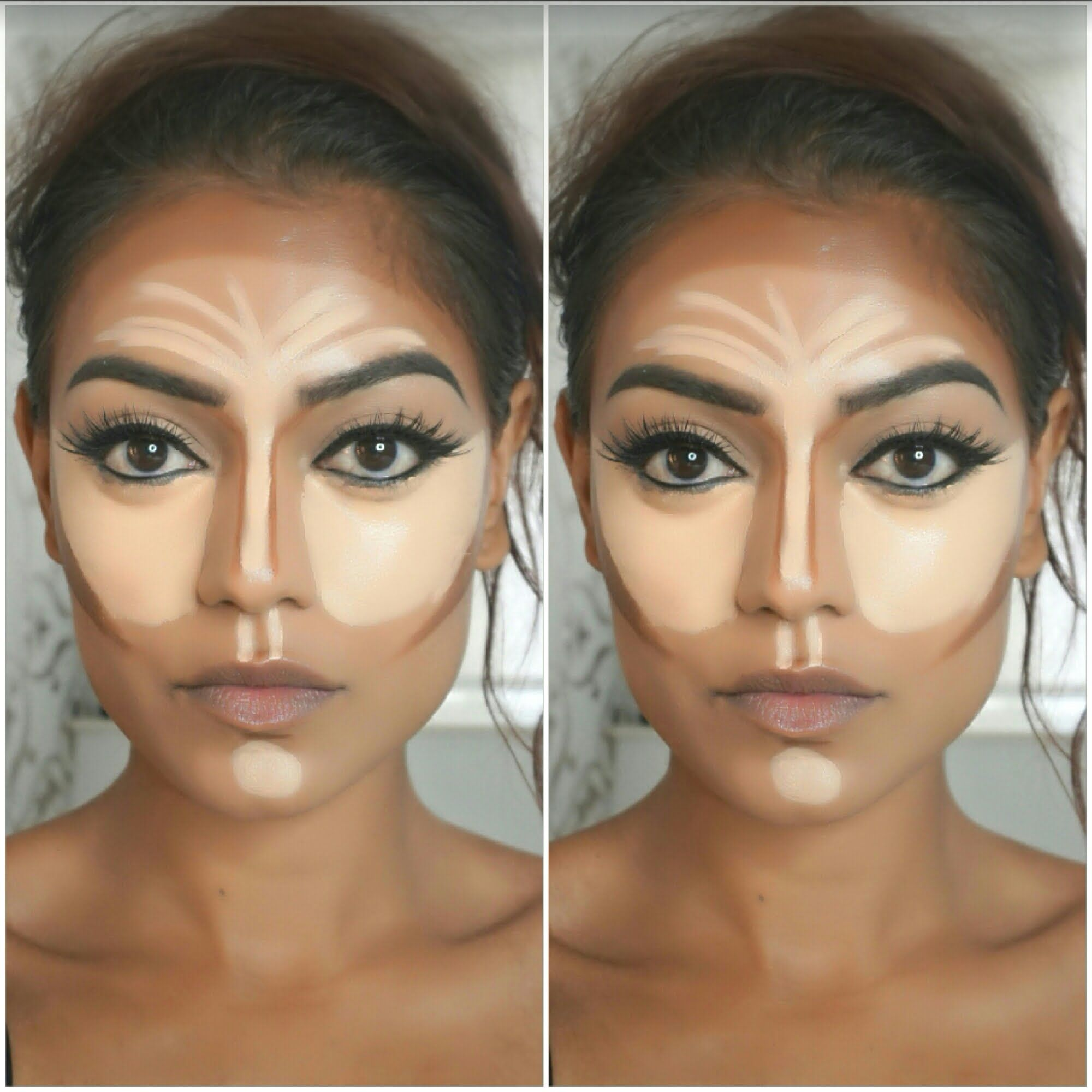 Extreme highlighting & contouring tutorial including