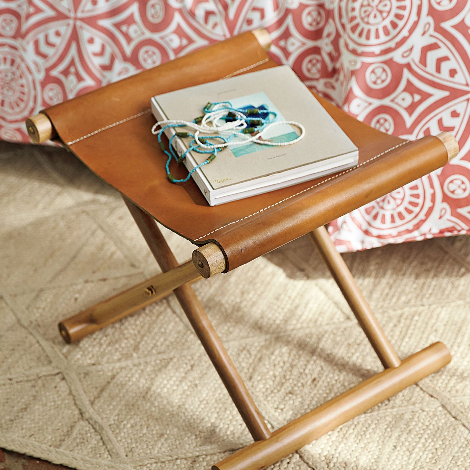 Cooper Leather Stool Our Re Interpretation Of A Campaign