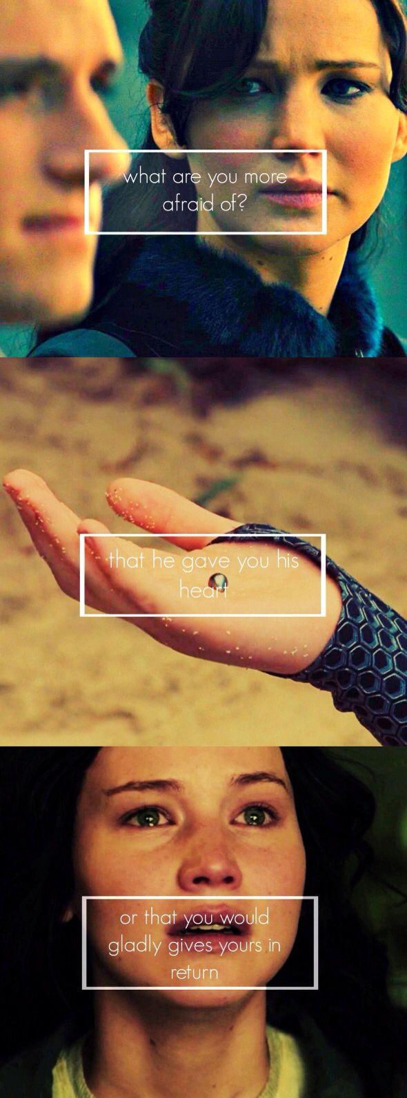 #TheHungerGames #CatchingFire - Katniss & Peeta