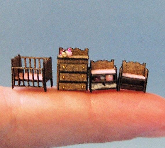 1/144th pulgadas escala miniatura-vivero