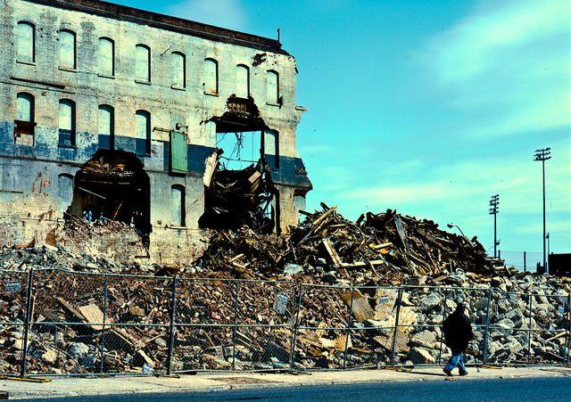 Ruins. Fuji Provia 400X. Hasselblad 500C,  Zeiss Distagon 50mm f/4. © Jim Fisher