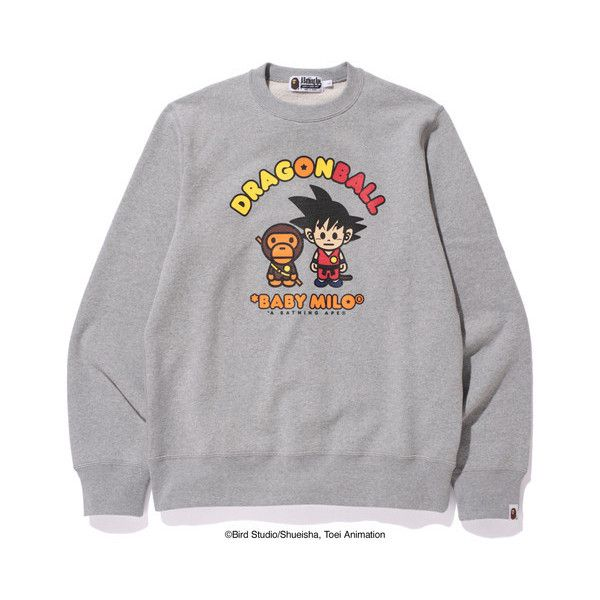 9526eb7ee BAPE X DRAGON BALL CREWNECK M ($100) ❤ liked on Polyvore featuring  accessories and a bathing ape