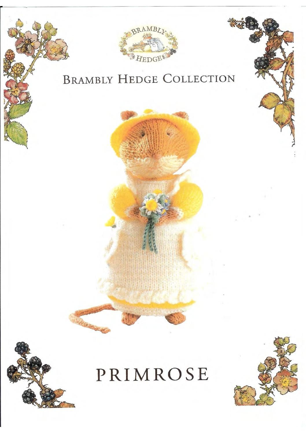 Knit brambly hedge collection primrose by FREE Magazine Inside | Fun ...