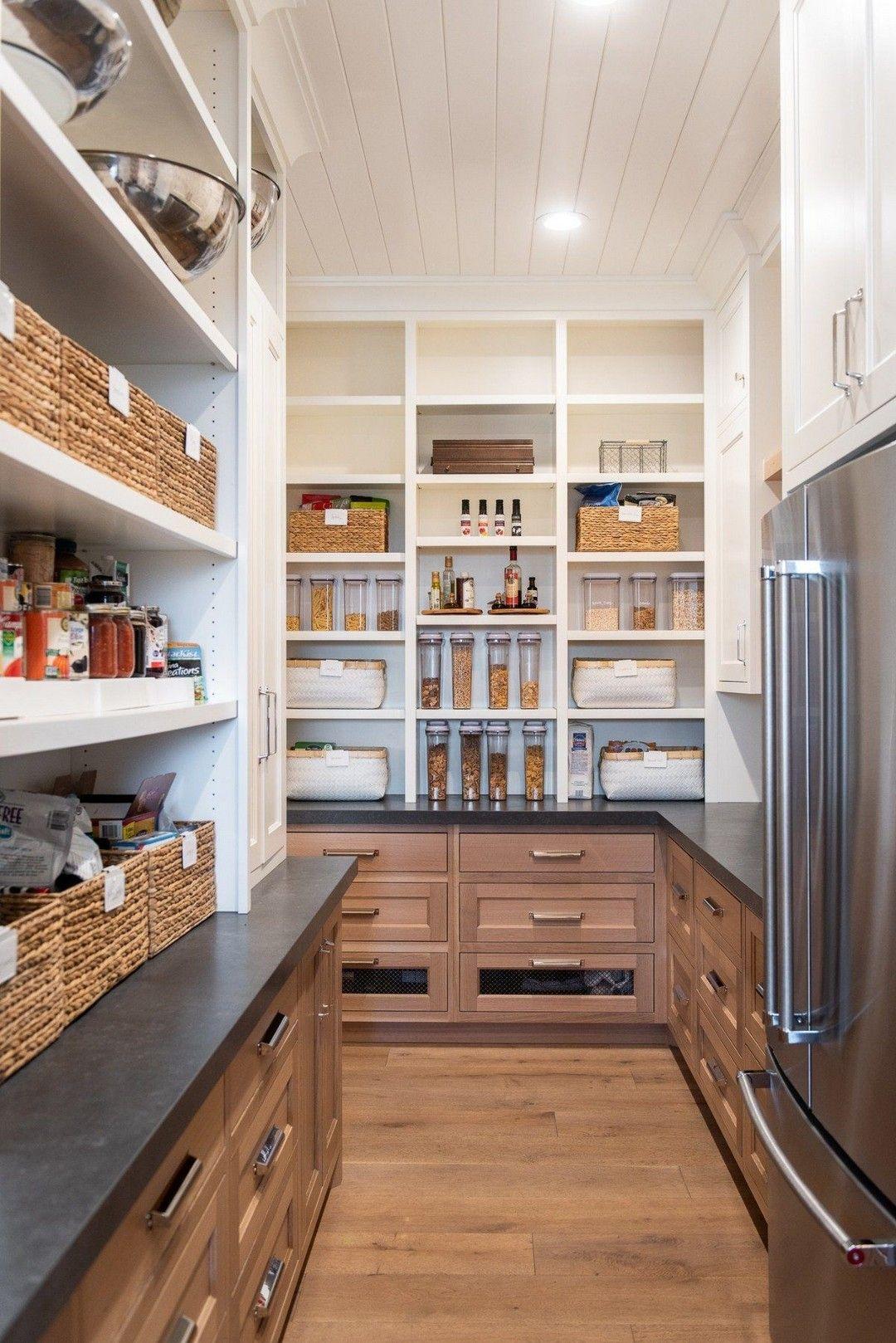 81 Diy Organized Walk In Modern Farmhouse Butler S Pantry Farmhouse Room Kitchen Pantry Design Pantry Design Pantry Room