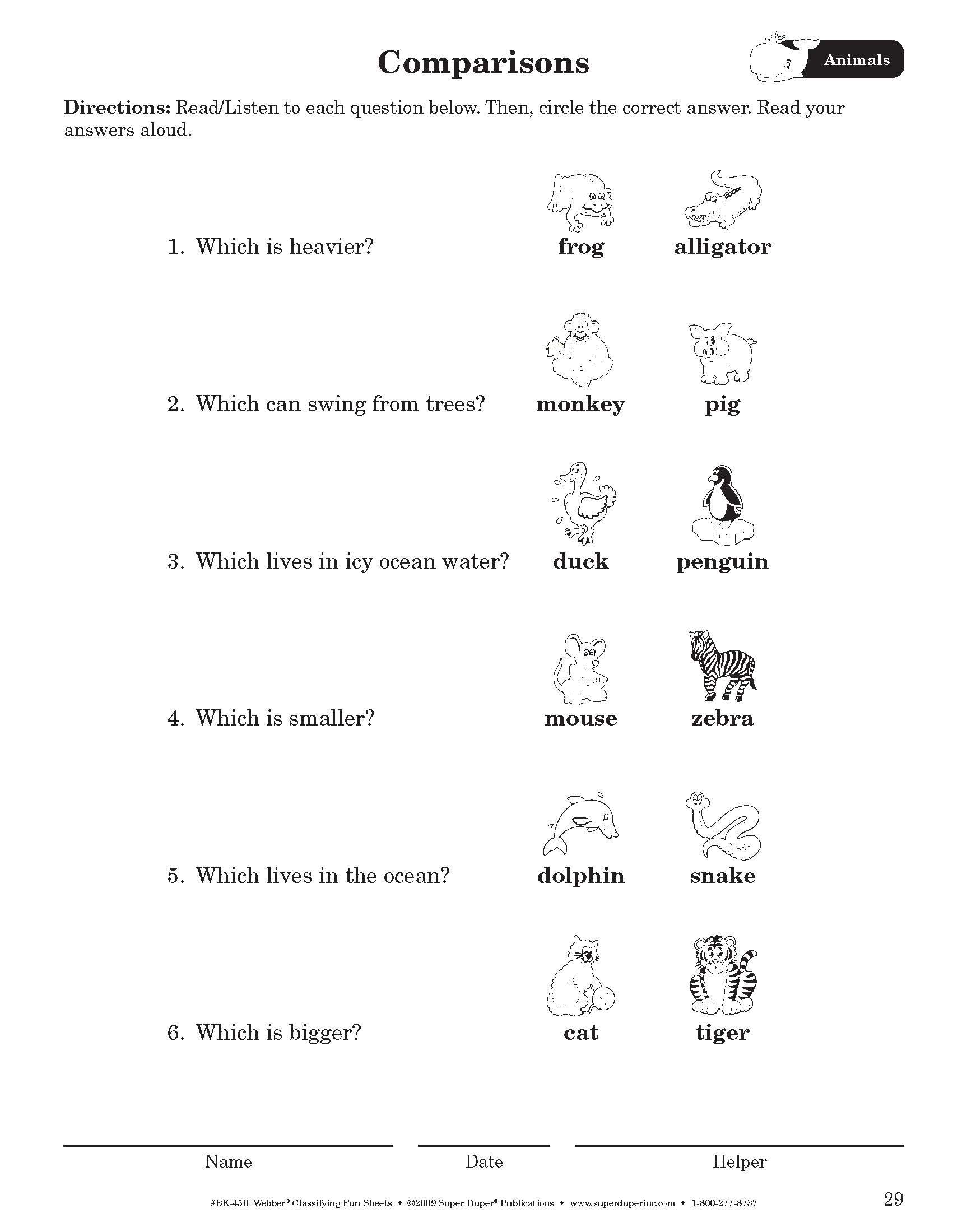 Classifying Sounds Worksheet   Printable Worksheets and Activities for  Teachers [ 2199 x 1701 Pixel ]