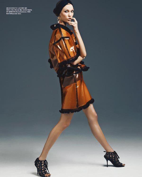 Karli Kloss in Vogue Korea