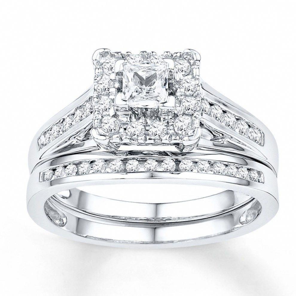princesscutringset Cheap wedding rings sets, Wedding