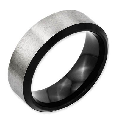 Awesome The Titanium Mens Wedding Rings For Elegant Ceremony Mens Wedding Rings Titanium Black Wedding Rings Mens Wedding Bands Brushed