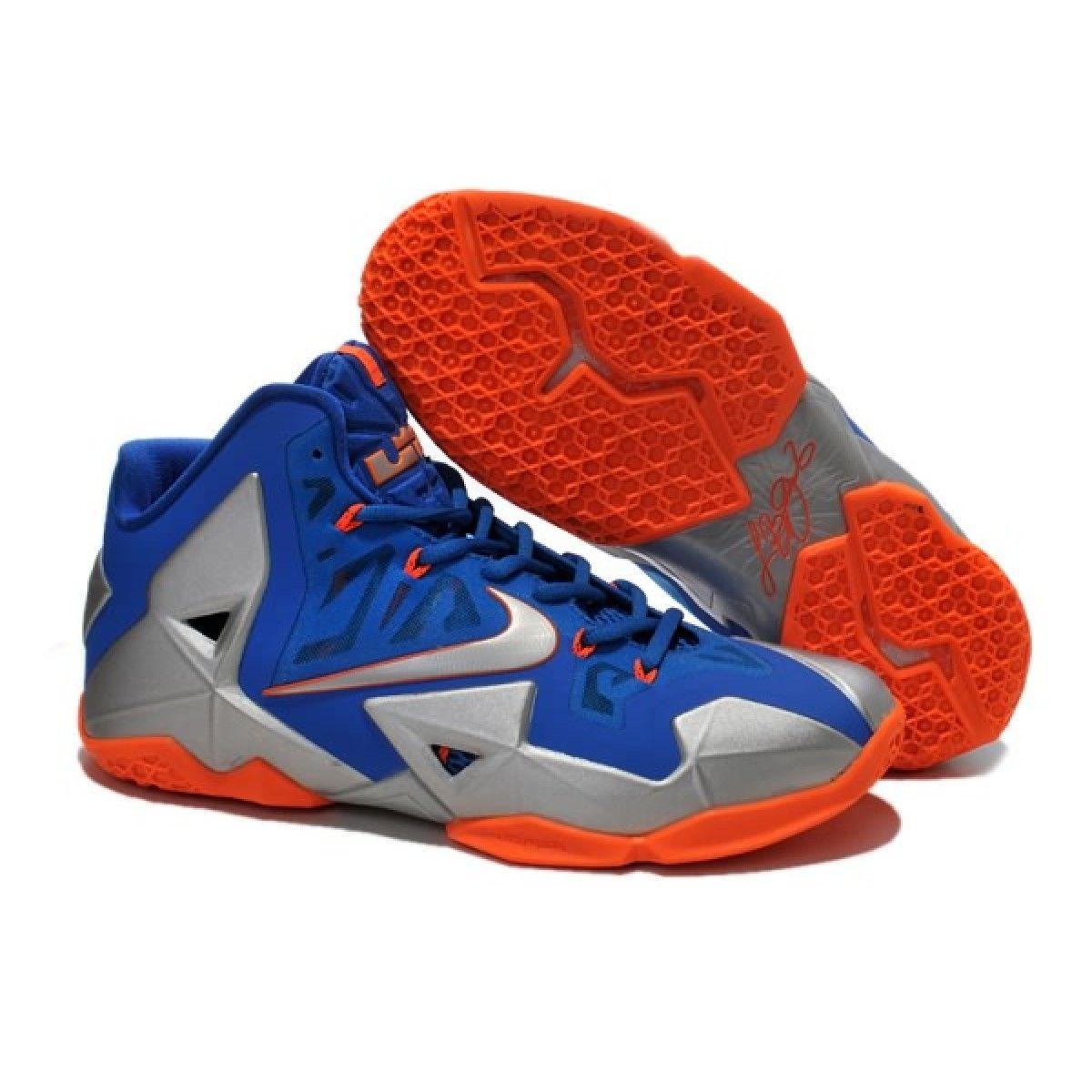 Nike Lebron 11 Blue Grey Orange Shoes, cheap Lebron 11 Mens, If you want to  look Nike Lebron 11 Blue Grey Orange Shoes, you can view the Lebron 11 Mens  ...