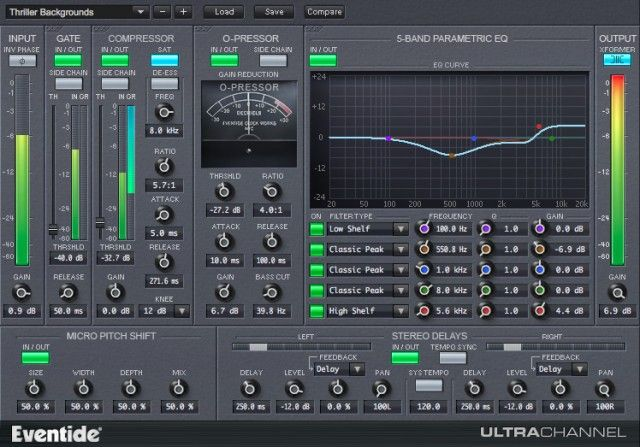 Eventide UltraChannel Native Channel Strip Available As A