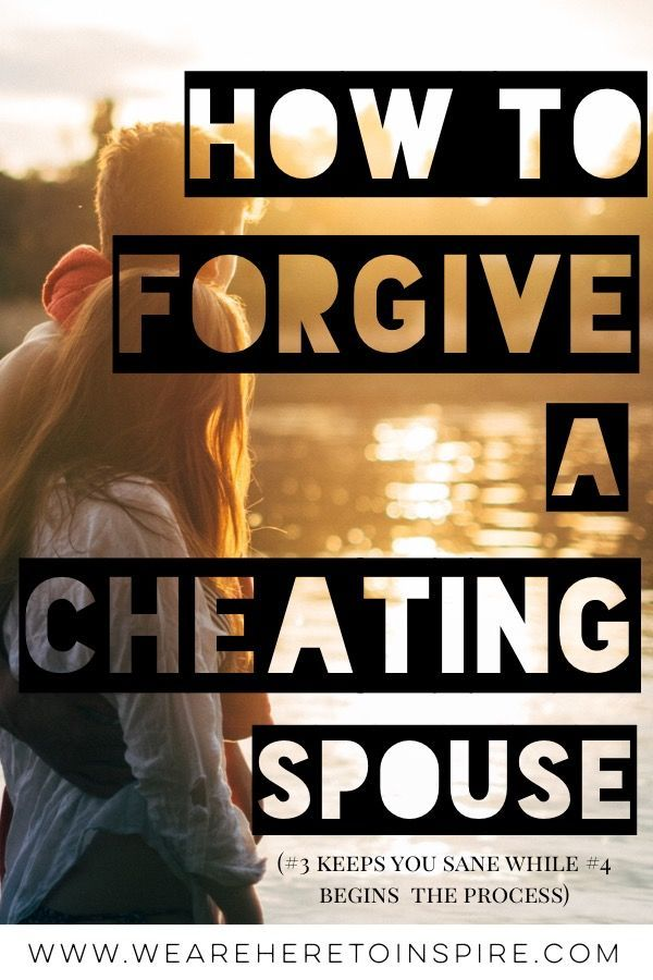 How to get over a spouse cheating