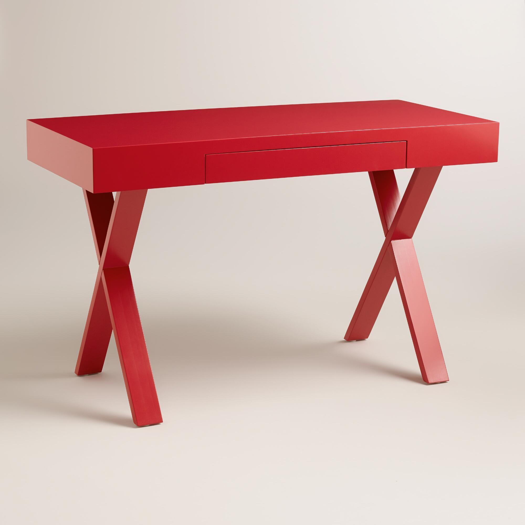Peachy Red Josephine Desk World Market Den Office Green Desk Download Free Architecture Designs Embacsunscenecom