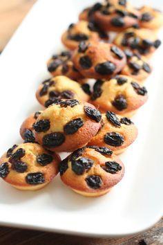 Petits fours aux raisins