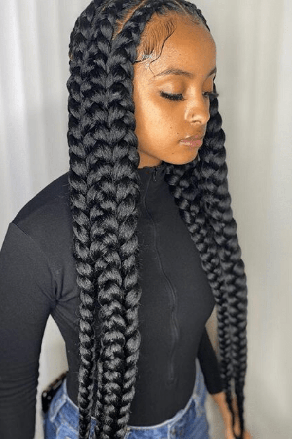 Protective Styles For Natural Hair   Curly Girl Swag in ...