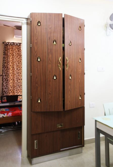 Small Pooja Cabinet Designs And Ideas   Home Makeover | Pinterest | Cabinet  Design, Puja Room And Room