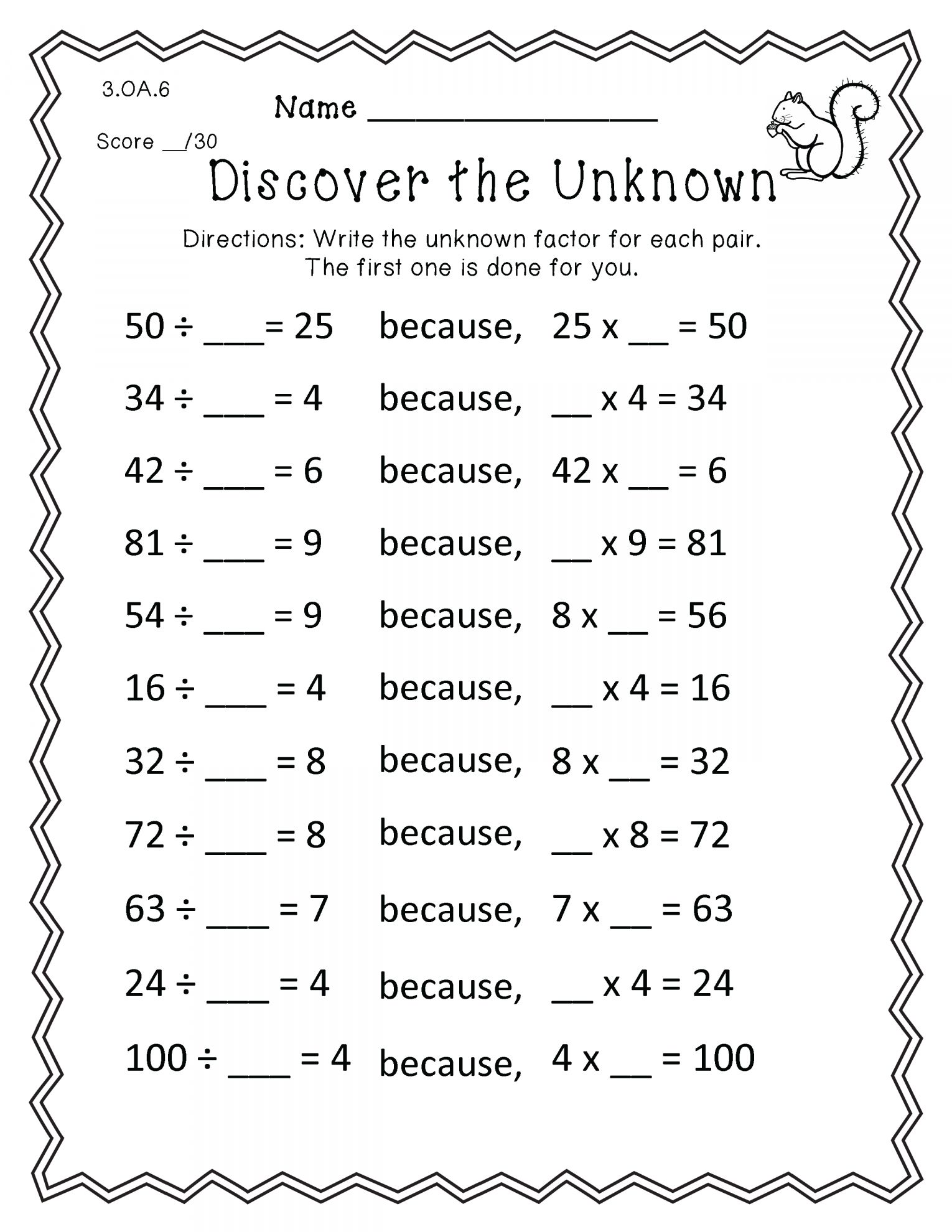 12 Math Combinations Worksheets 3rd Grade In