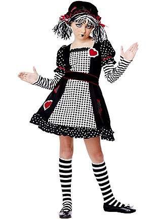 GIRL\u0027S RAG DOLL COSTUME kid\u0027s essentials Pinterest Costumes - halloween girl costume ideas