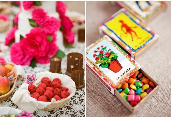 Mexican themed wedding favors