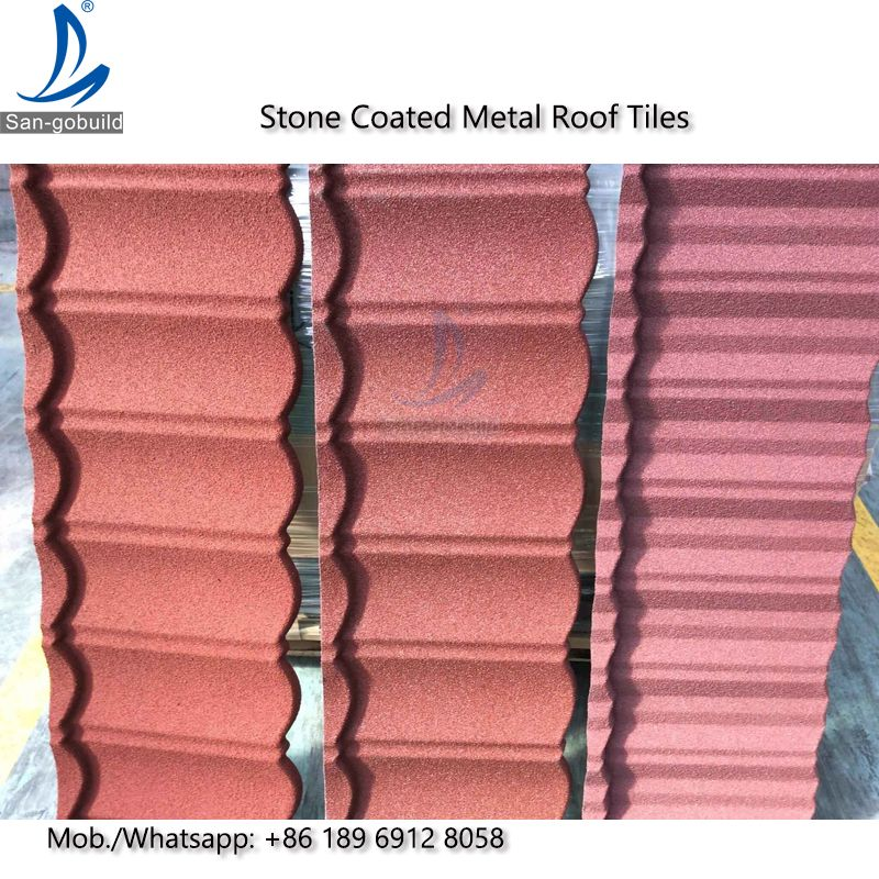 Decorative Roof Tiles Decorative Corrugated Stone Coated Metal Roofing Tiles Price