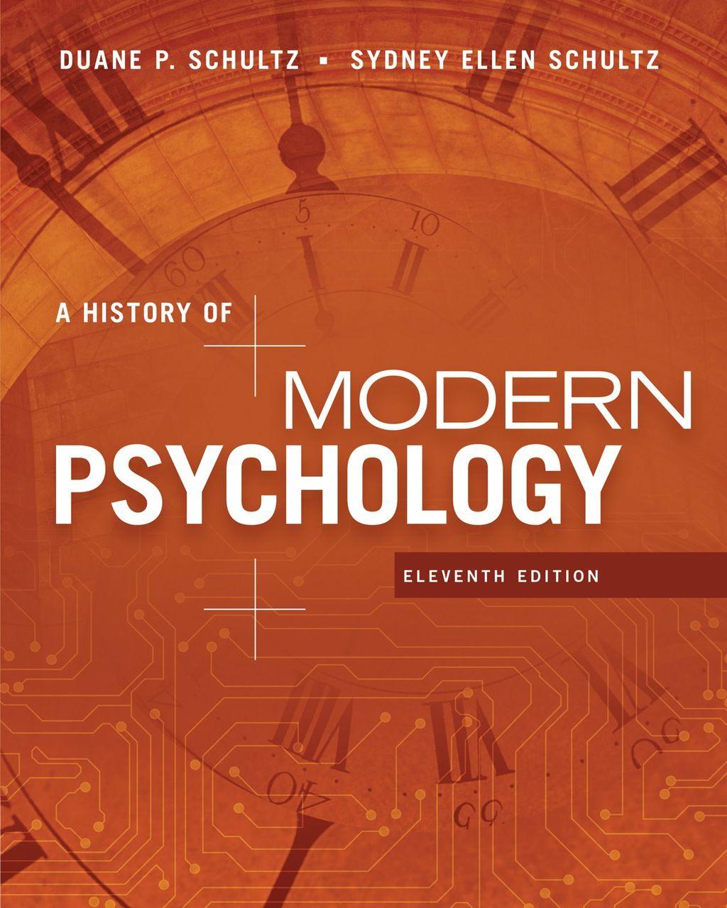 A History of Modern Psychology (eBook Rental) History of