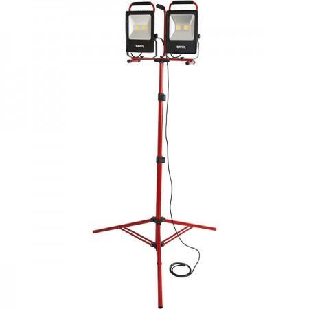 10 000 Lumen Led Dual Fixture Work Light On Tripod Stand Work Lights Led Sink Design