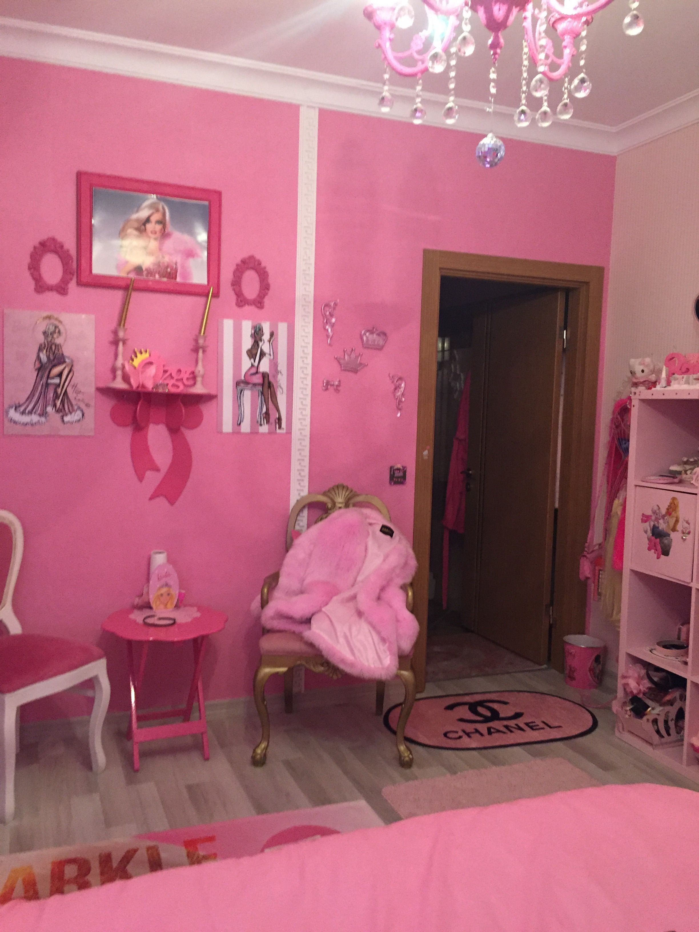 Pink Bedroom In 2020 Pink Room Aesthetic Room Decor Home Decor