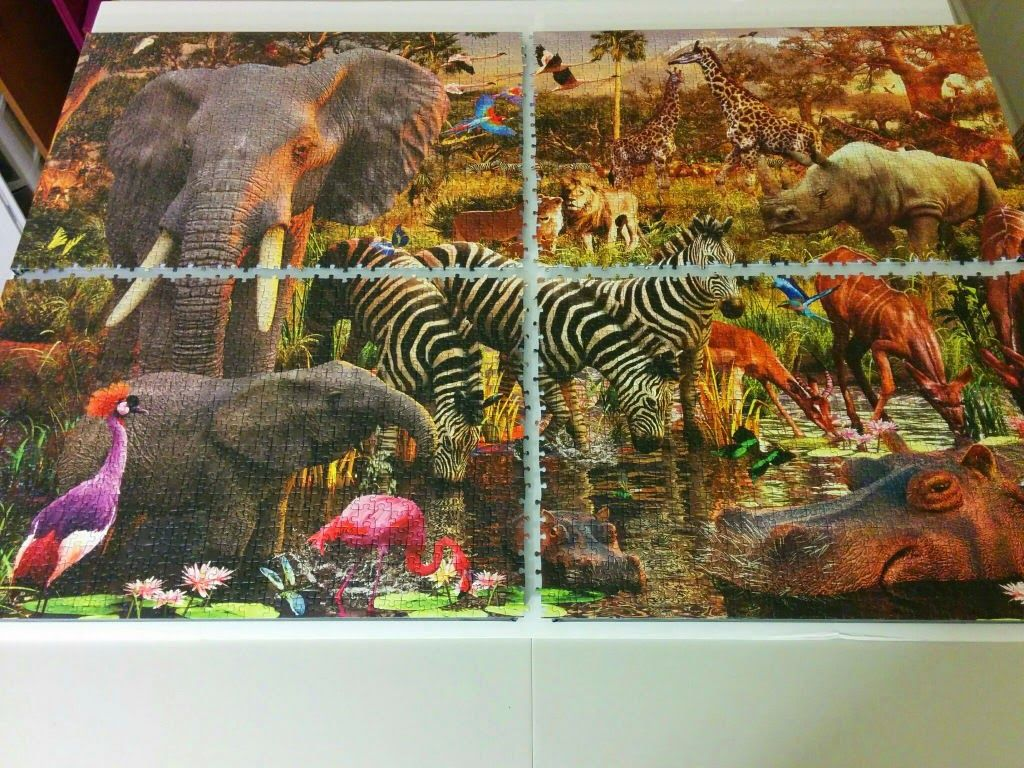 How To Mount Large Jigsaw Puzzles Without Glue In
