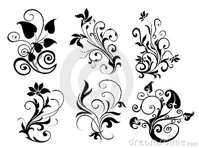 Line Drawing Flower Images : Leaves drawing flower google search tatoo