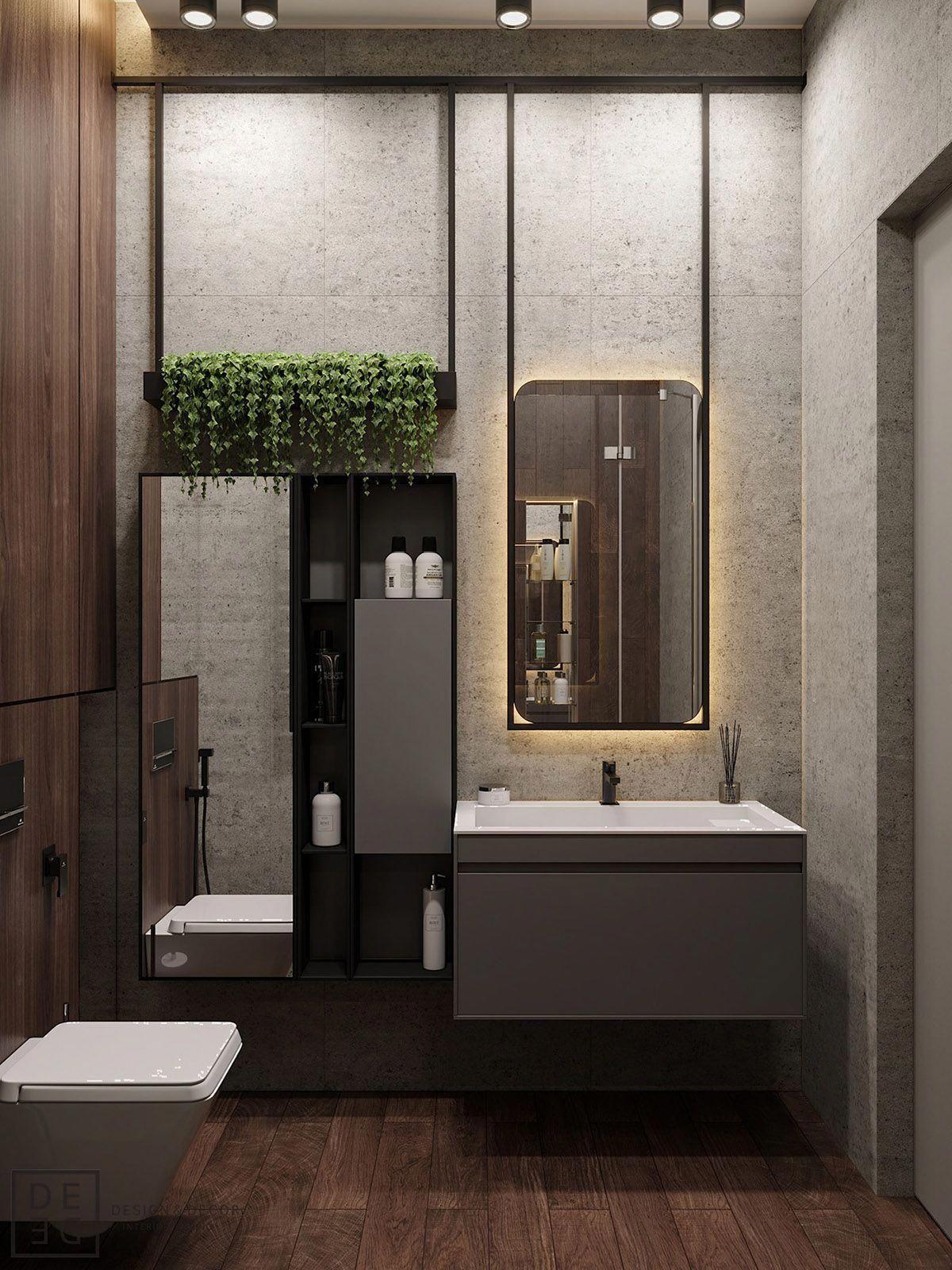 Cocoon Contemporary Bathroom Design Inspiration High End Stainless Steel Design Ta Bathroom Mirror Design Contemporary Bathroom Designs Bathroom Design Decor