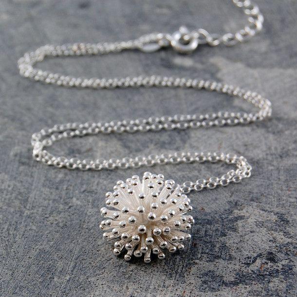 eu.Fab.com | Dandelion Necklace Silver