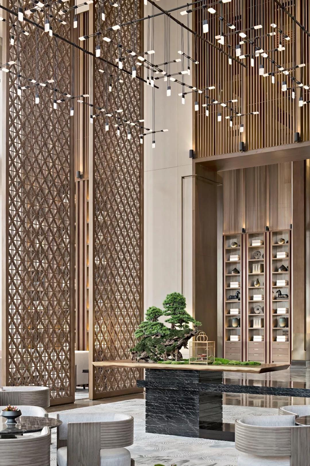 比国际五星酒店更惊艳的售楼处设计 集艾设计 室内设计联盟 With