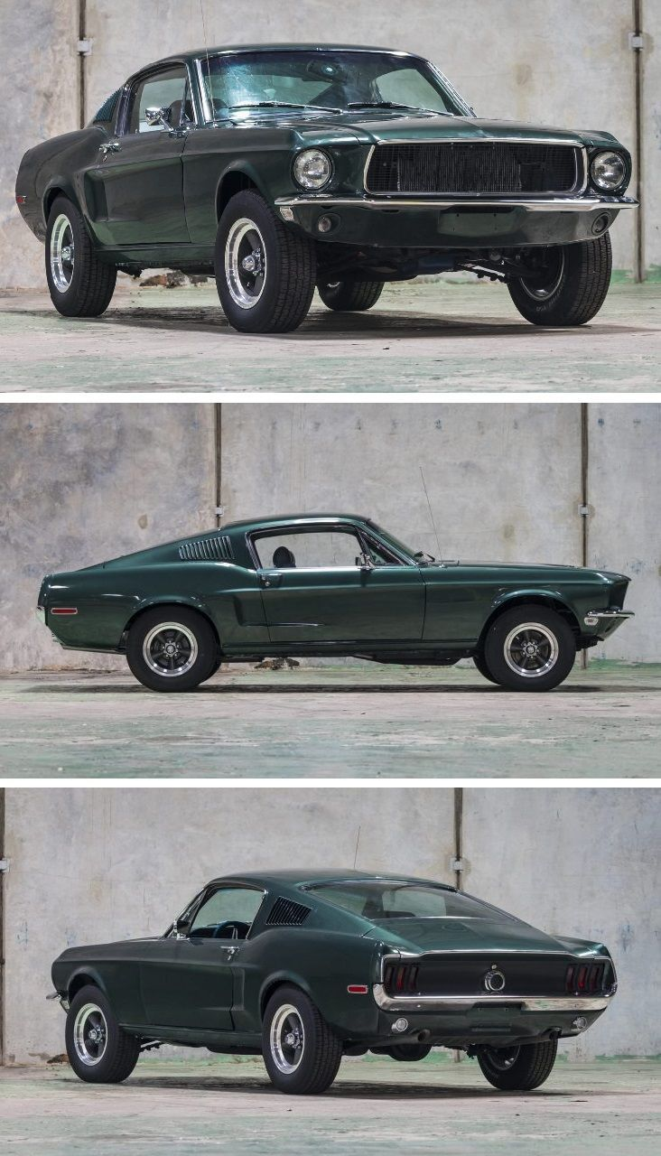 New Cool cars 2019 Bullitt-Spec 1968 Ford Mustang Fastback – There are few movie…