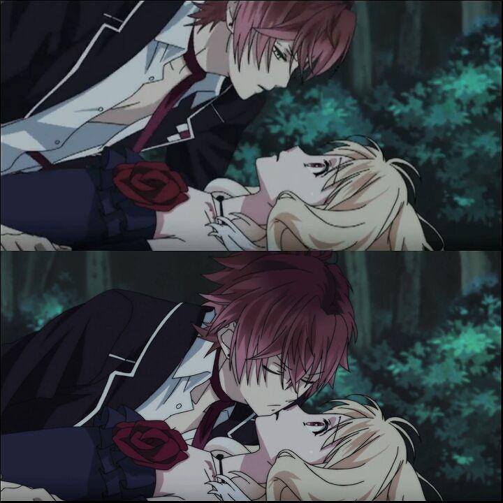 Anime Diabolik Lovers Diaboliklovers Diabolikloversmoreblood Animevampire Animegirl Harem Otaku