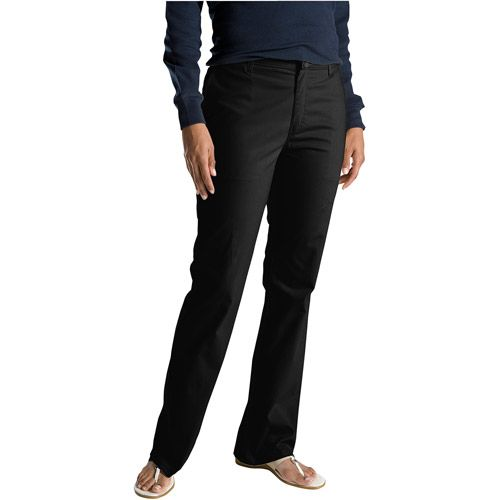 Walmart: Dickies - Women's Slim Bootcut Twill Pants $16.00 ...