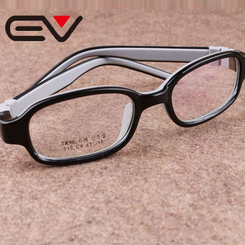 Children\'s TR90 Silicone Eyeglasses Boys Hyperopia Amblyopia Myopia ...