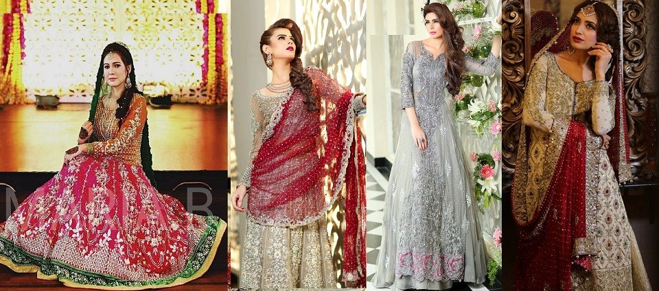 Stani Designer Bridal Dresses By Maria B Brides Collection 2017