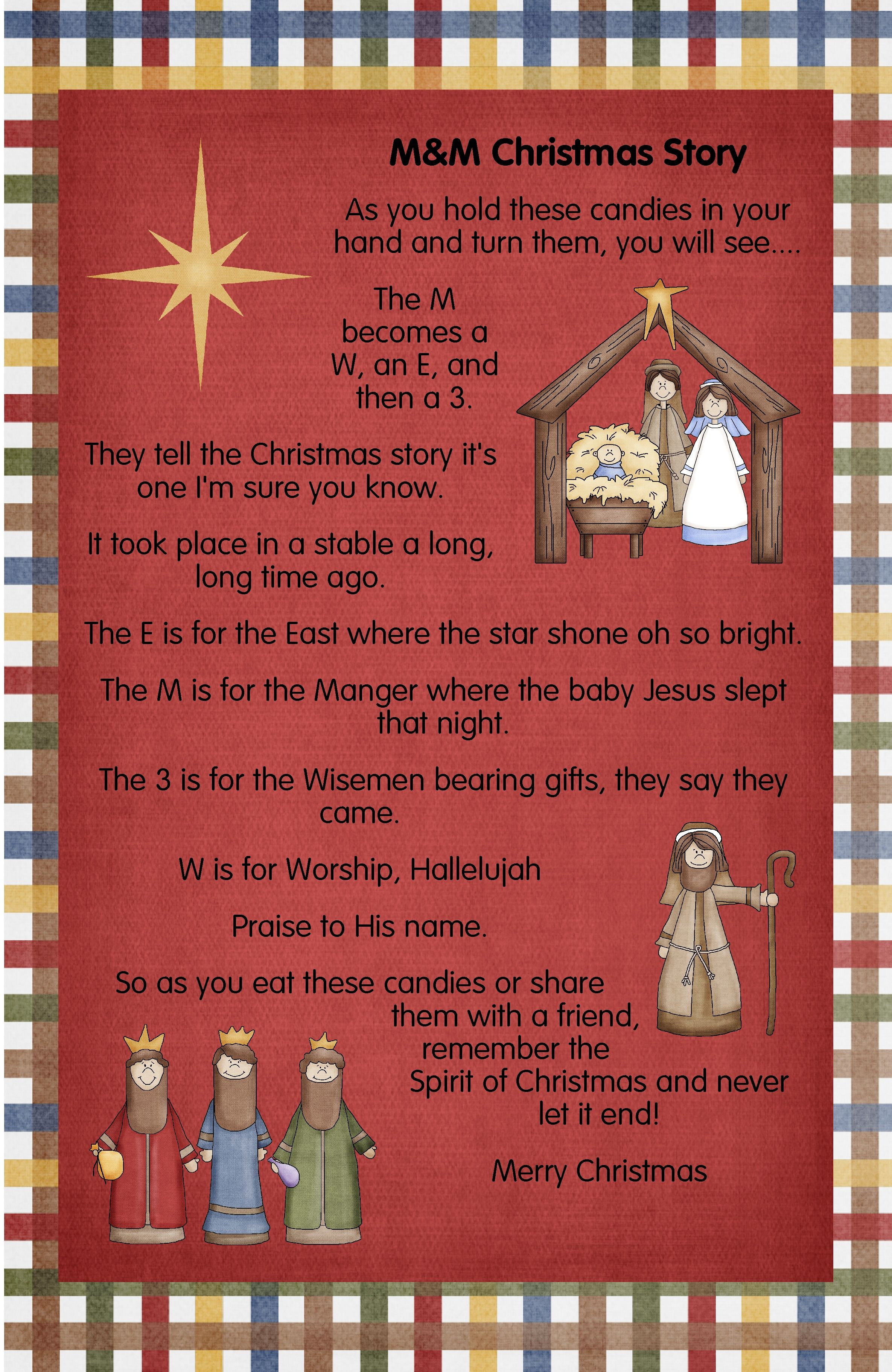 Christmas Gift For The Students Poem To Help Your Kids