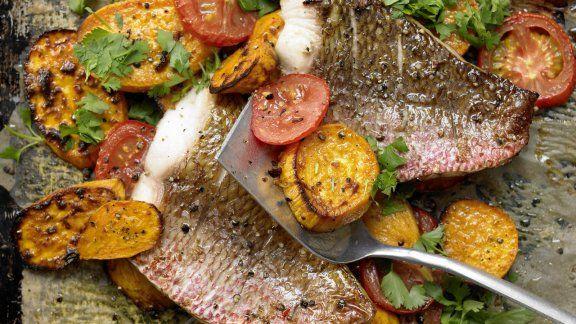 Rezept: Fischfilets aus dem Ofen