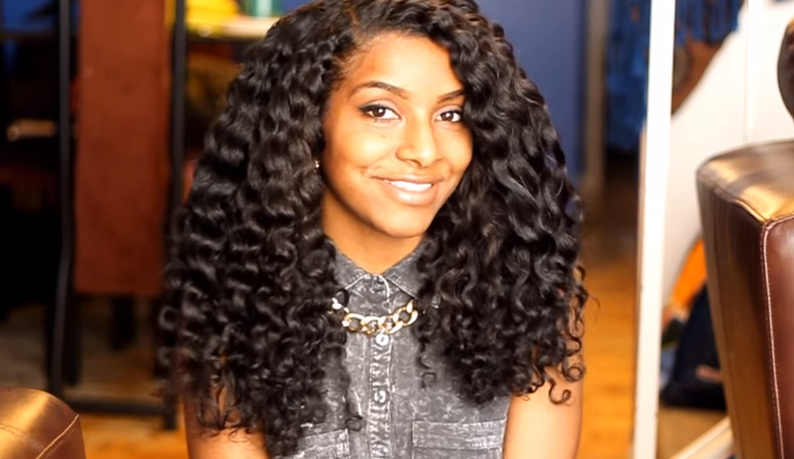 """The """"Dry Twist Out on Blown Out Natural Hair"""" tutorial shows how to get an effortless yet stunning look for long natural hair. Take a look! via @naturalhairmag"""
