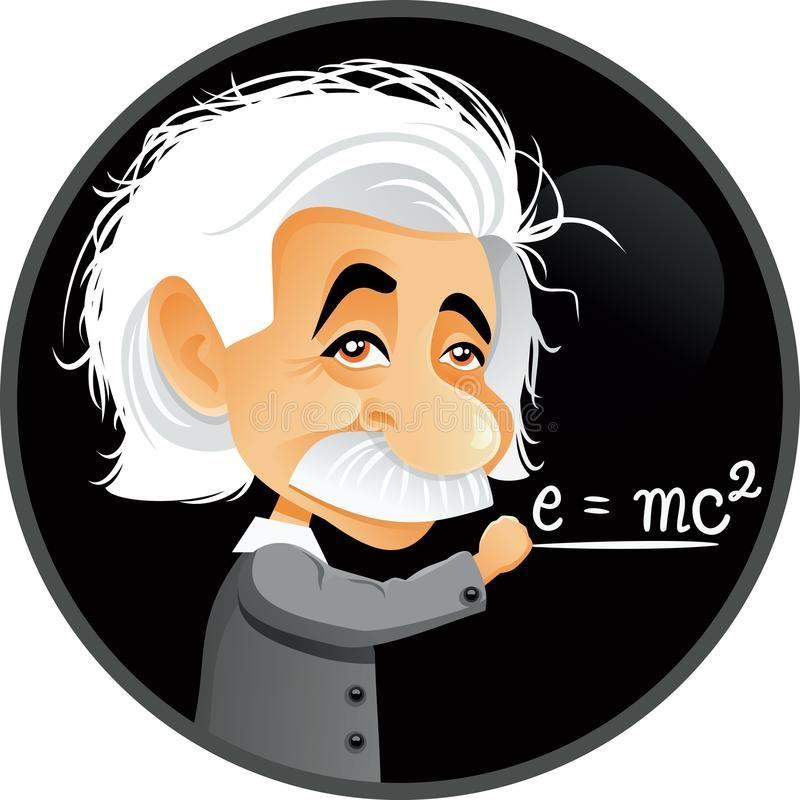 Albert Einstein Vector Cartoon Illustration Funny Editorial Caricature Portrait Sponsored Ad Affili In 2021 Cartoon Illustration Cartoons Vector Albert Einstein