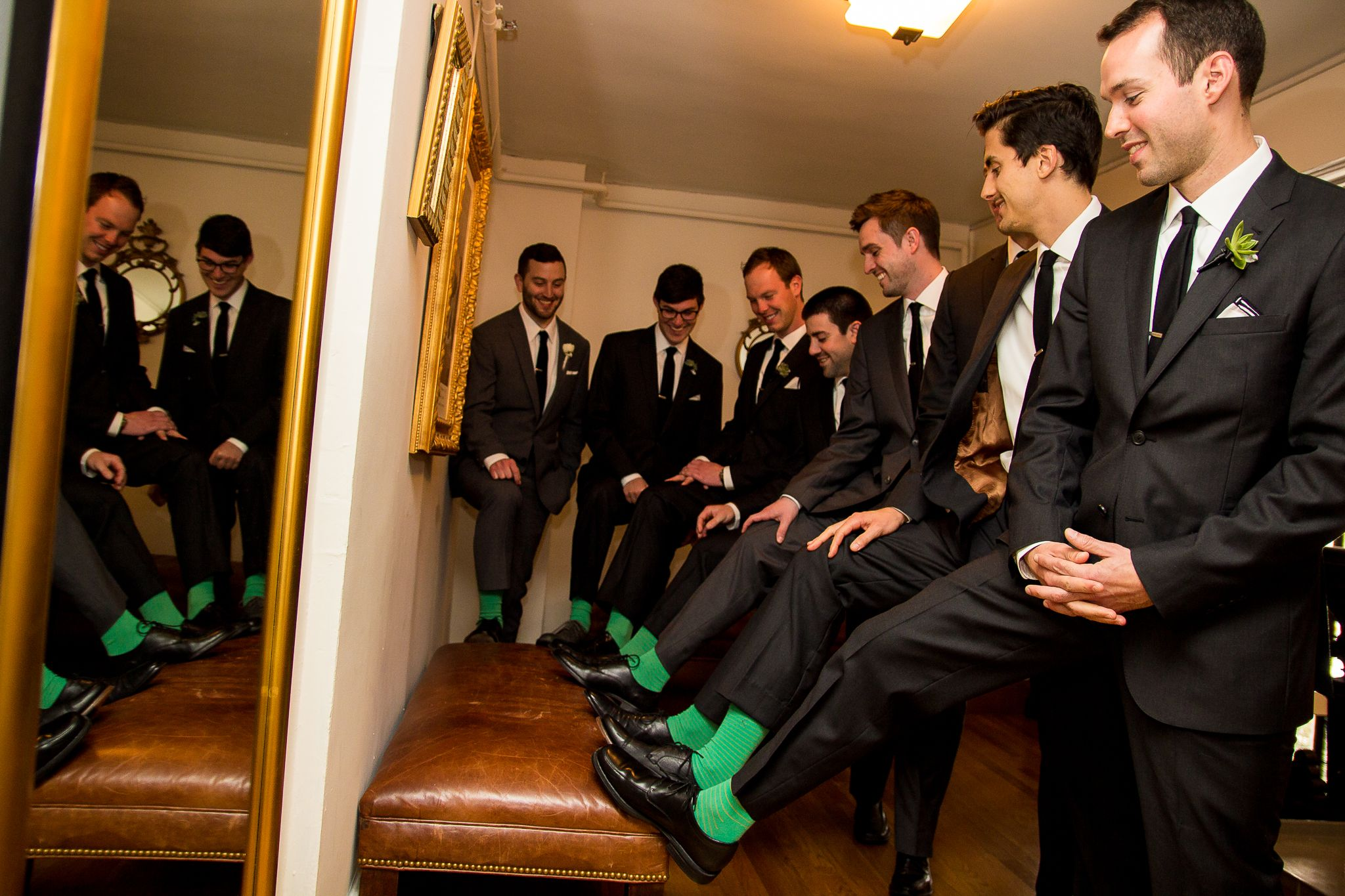 Brian Pescatore Photography | #AldenCastle #LongwoodVenues #Boston #Wedding #BostonWedding #Groom #Groomsmen #Socks #Photography  http://longwoodevents.com http://www.brianpescatorephotography.com