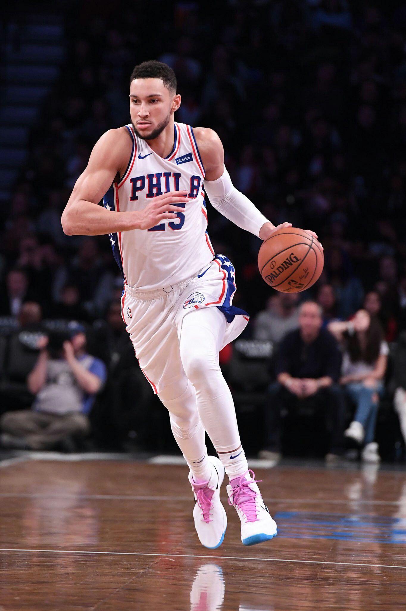 Aaron Ramos Adli Kullanicinin Ben Simmons Panosundaki Pin Basketbol