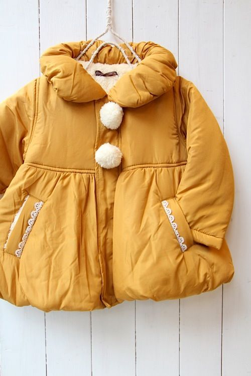 7a17d5b744a mustard yellow puffer jacket • kids coat | KIDS JACKETS | Kids coats ...